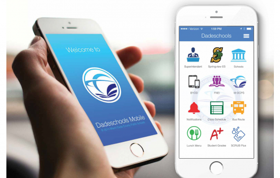 Download the M-DCPS App today!